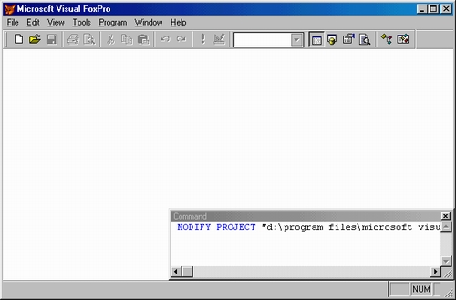 Visual Foxpro Serial Communication Interface